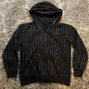 Hoodie Buddie Vertical Stripe Hoodie Sweater
